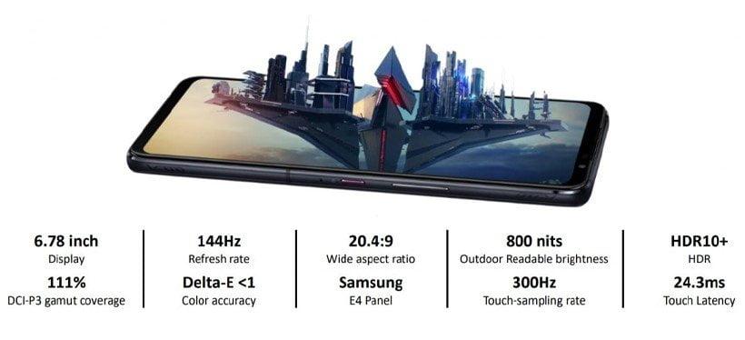 صفحه نمایش ایسوس راگ فون 5